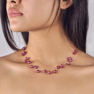 Collier Constellation - Pourpre