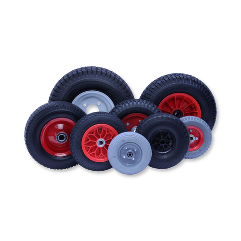 Pneumatic Wheels & Puncture Proof Wheels