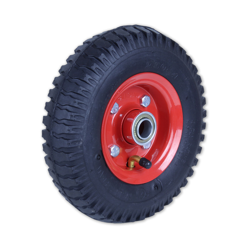250X4LUG-SB34 120kg Steel Centre Pneumatic Wheel