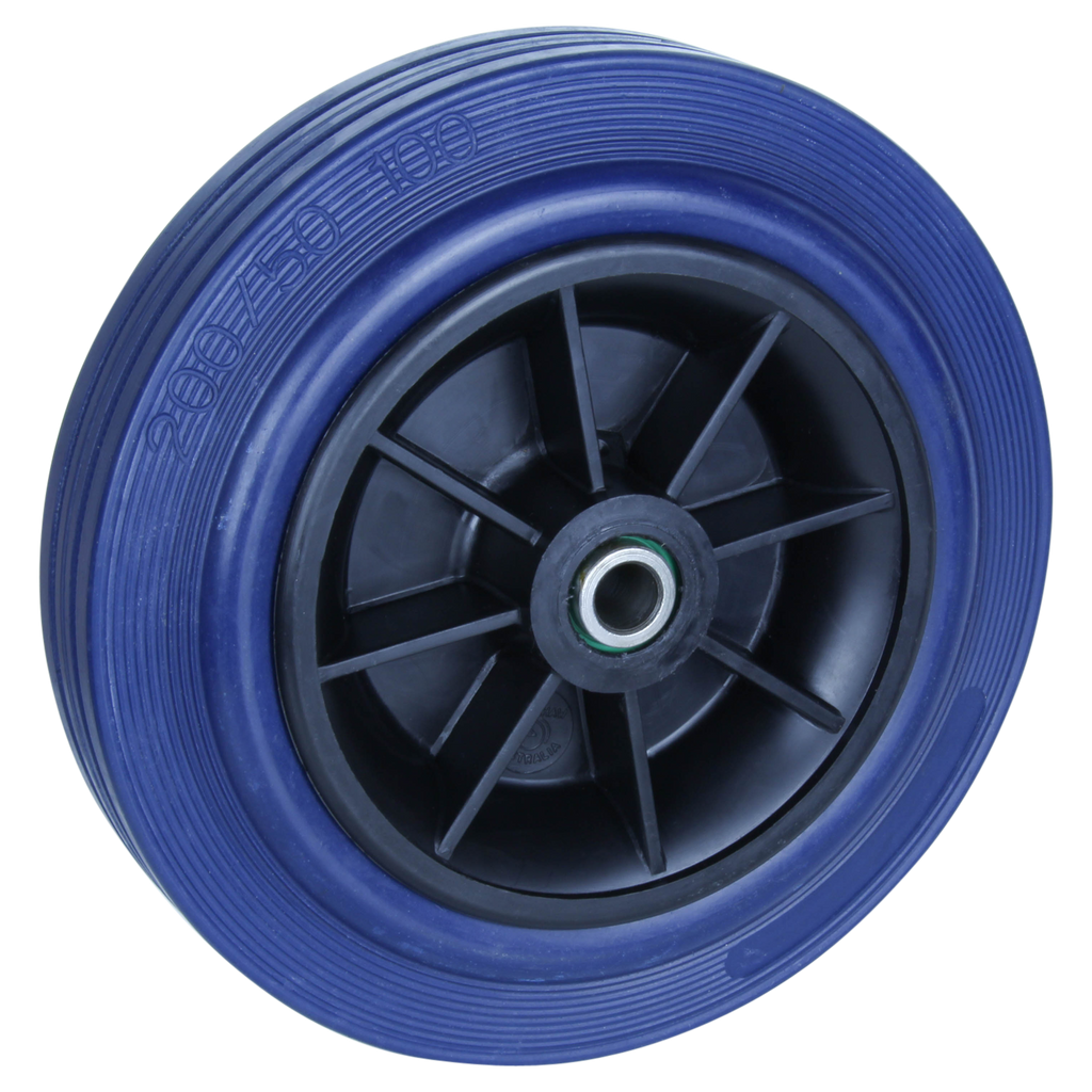 HBA200S 250 Kg <span>Blue Rubber Wheel</span>