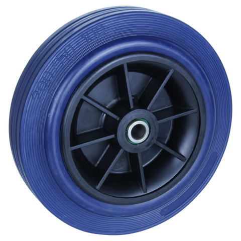 HBA200 250 Kg <span>Blue Rubber Wheel</span>