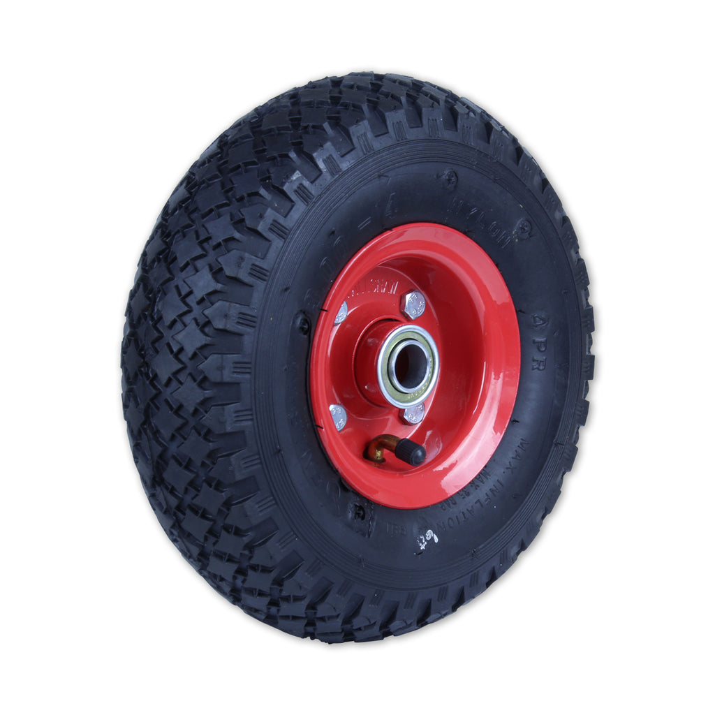 300X4DMD-SB58 140 Kg <span>Steel Centre Pneumatic Wheel</span>