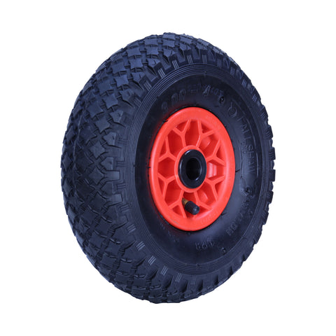 300X4DMD-PWA10 120kg Plastic Centre Pneumatic Wheel