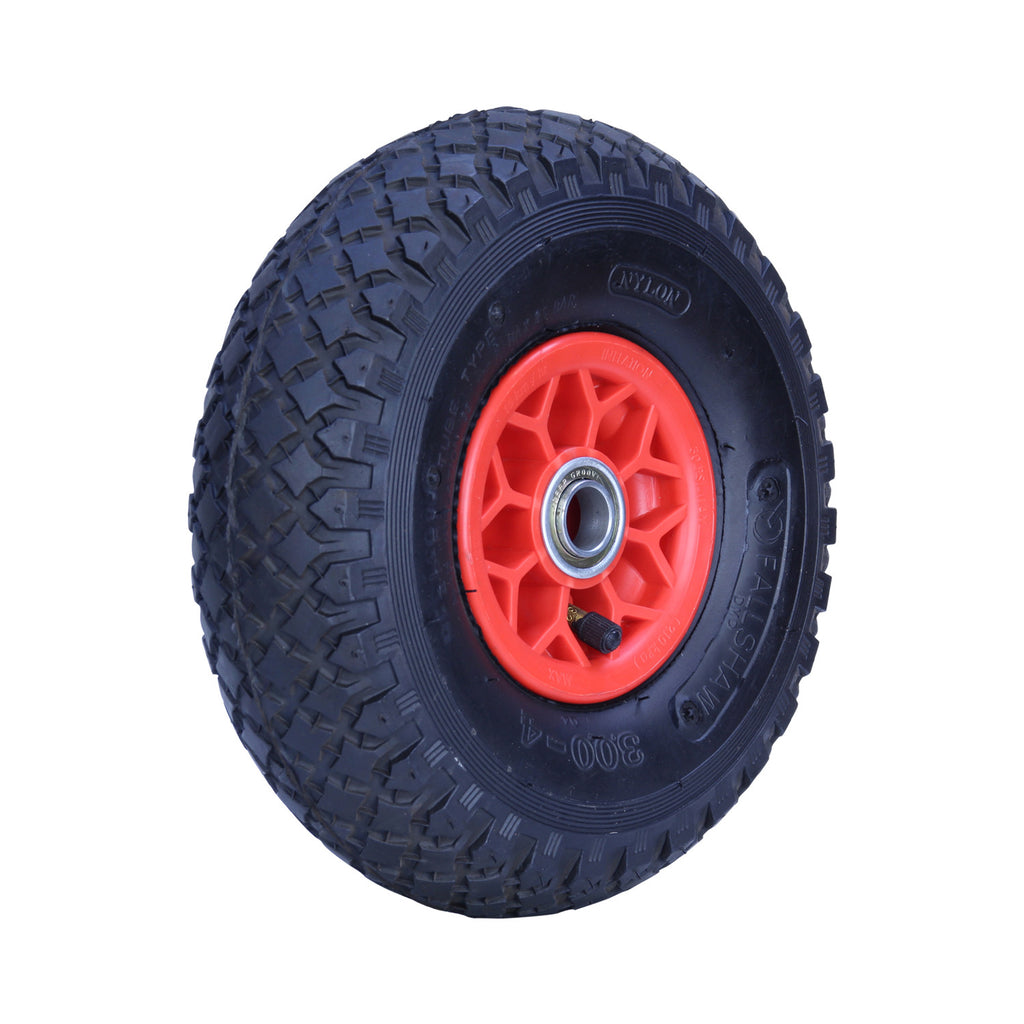 300X4DMD-PWB20 120kg Plastic Centre Pneumatic Wheel