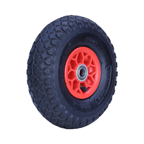 300X4DMD-PWB20 120 Kg <span>Plastic Centre Pneumatic Wheel</span>