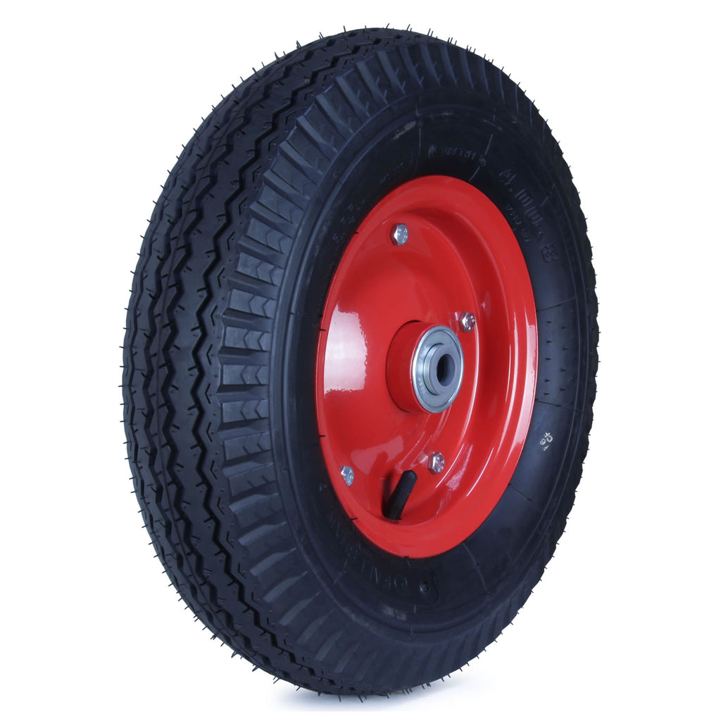 400X8HWY-SB58 360 Kg <span>Steel Centre Pneumatic Wheel</span>