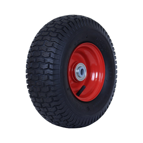 500X6GRA-SB58 220 Kg <span>Steel Centre Pneumatic Wheel</span>