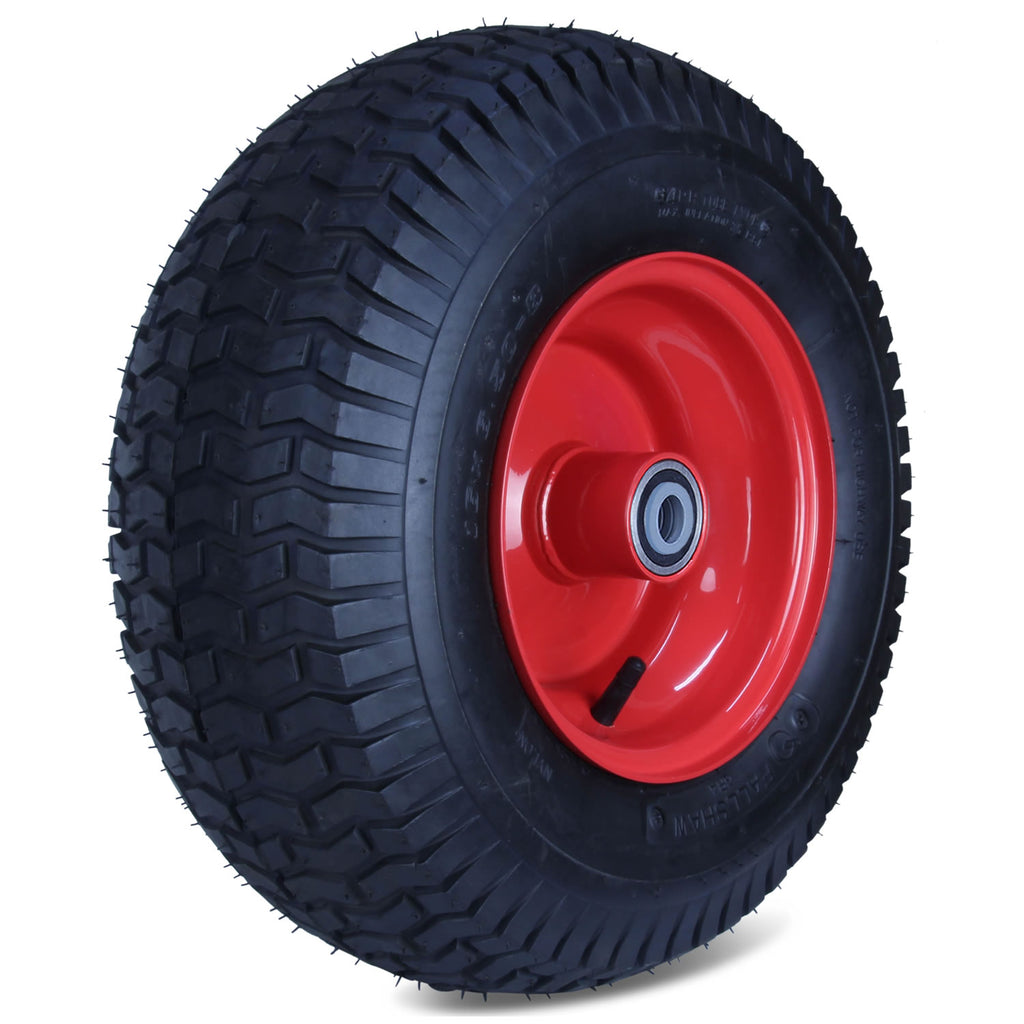 650X8GRA-SQ34 230 Kg <span>Steel Centre Pneumatic Wheel</span>
