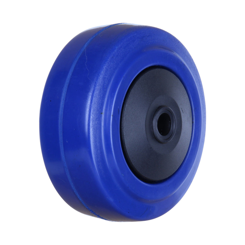 BP07532B 80kg Blue Rubber Wheel