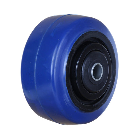BP10050B 150 Kg <span>Blue Rubber Wheel</span>