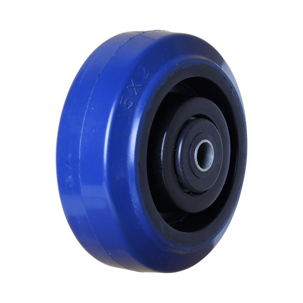 BP12550B 200 Kg <span>Blue Rubber Wheel</span>