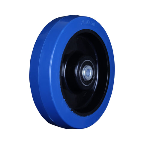 BP20050B 300 Kg <span>Blue Rubber Wheel</span>