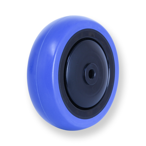 CBQ100G 100 Kg Blue Rubber Wheel