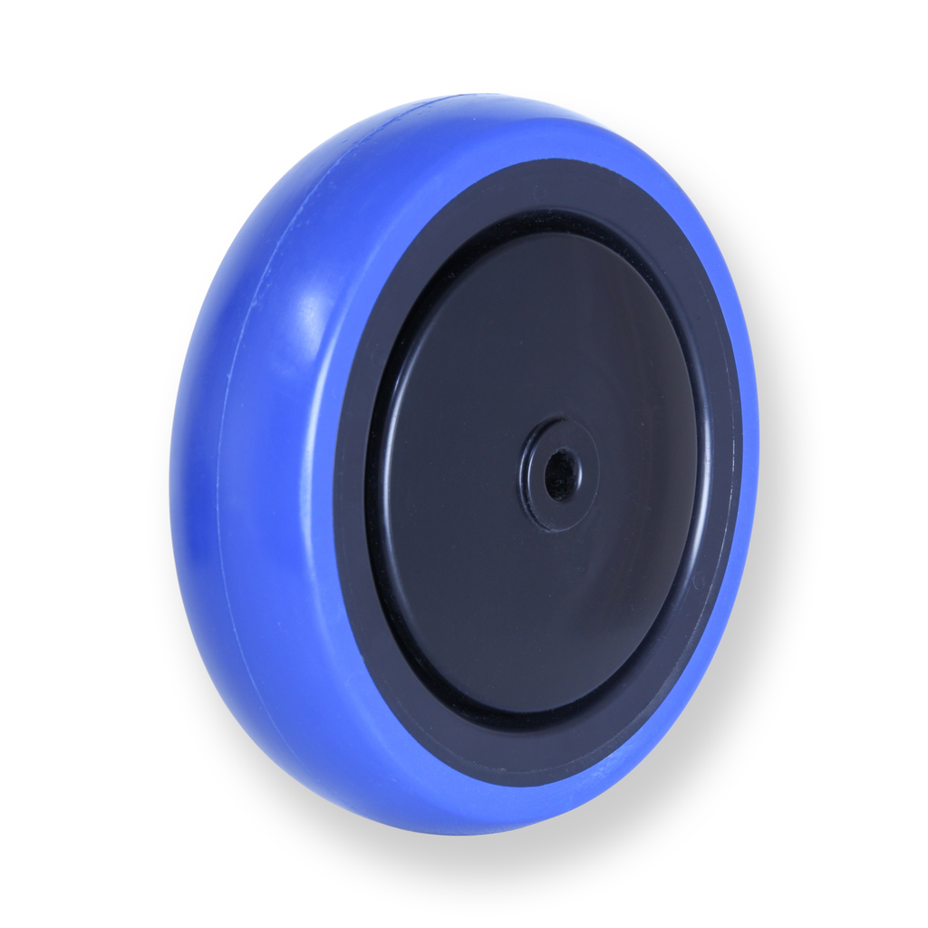 CBQ125G 100kg Blue Rubber Wheel