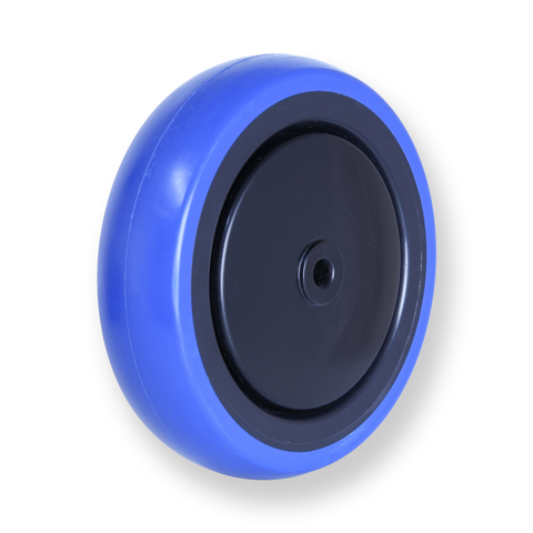 CBQ125G 100 Kg Blue Rubber Wheel