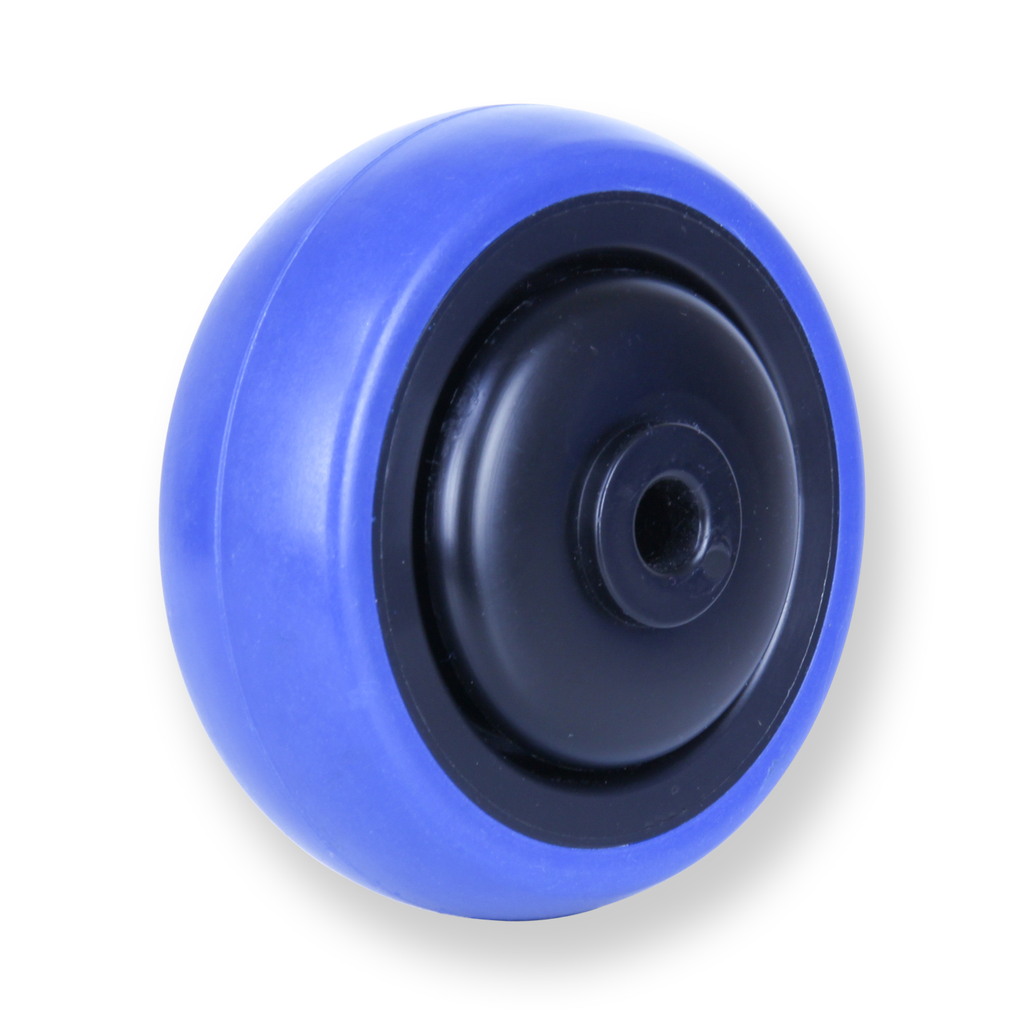 CBQ75G 85 Kg Blue Rubber Wheel
