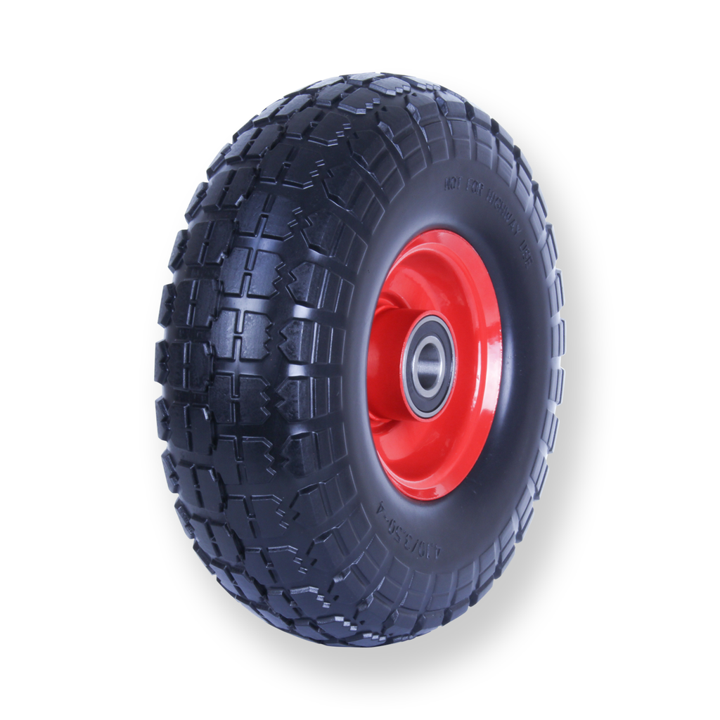 F350X4SB58 80 Kg Puncture Proof Pneumatic Wheel