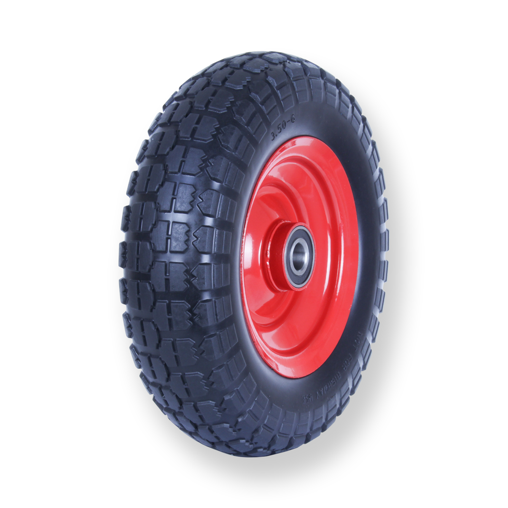 F350X6SB20 80kg Puncture Proof Pneumatic Wheel
