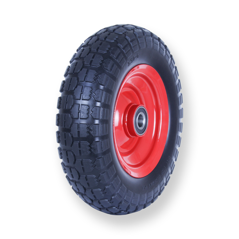 F350X6SB20 80 Kg Puncture Proof Pneumatic Wheel