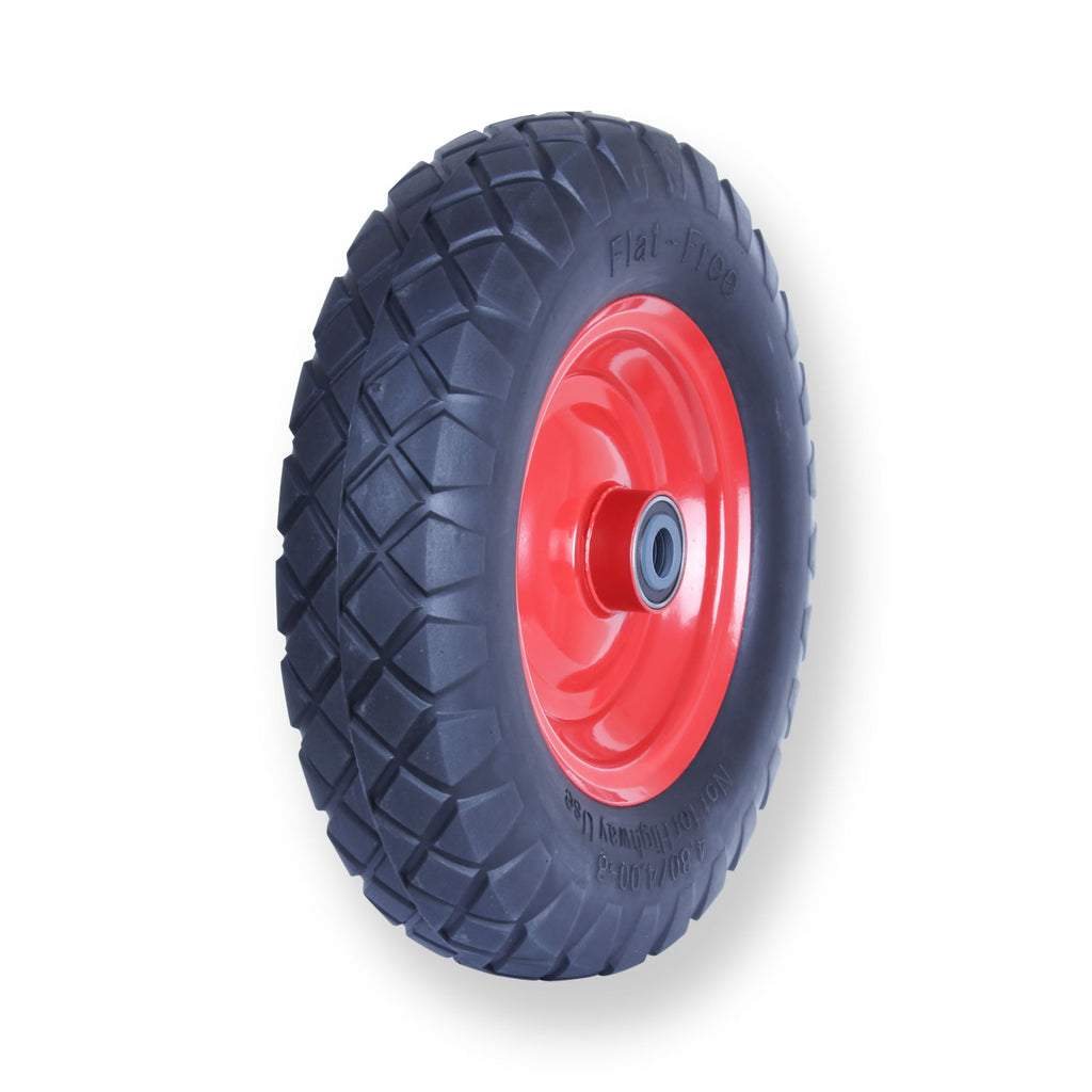 F400X8SB58 100 Kg <span>Puncture Proof Pneumatic Wheel</span>
