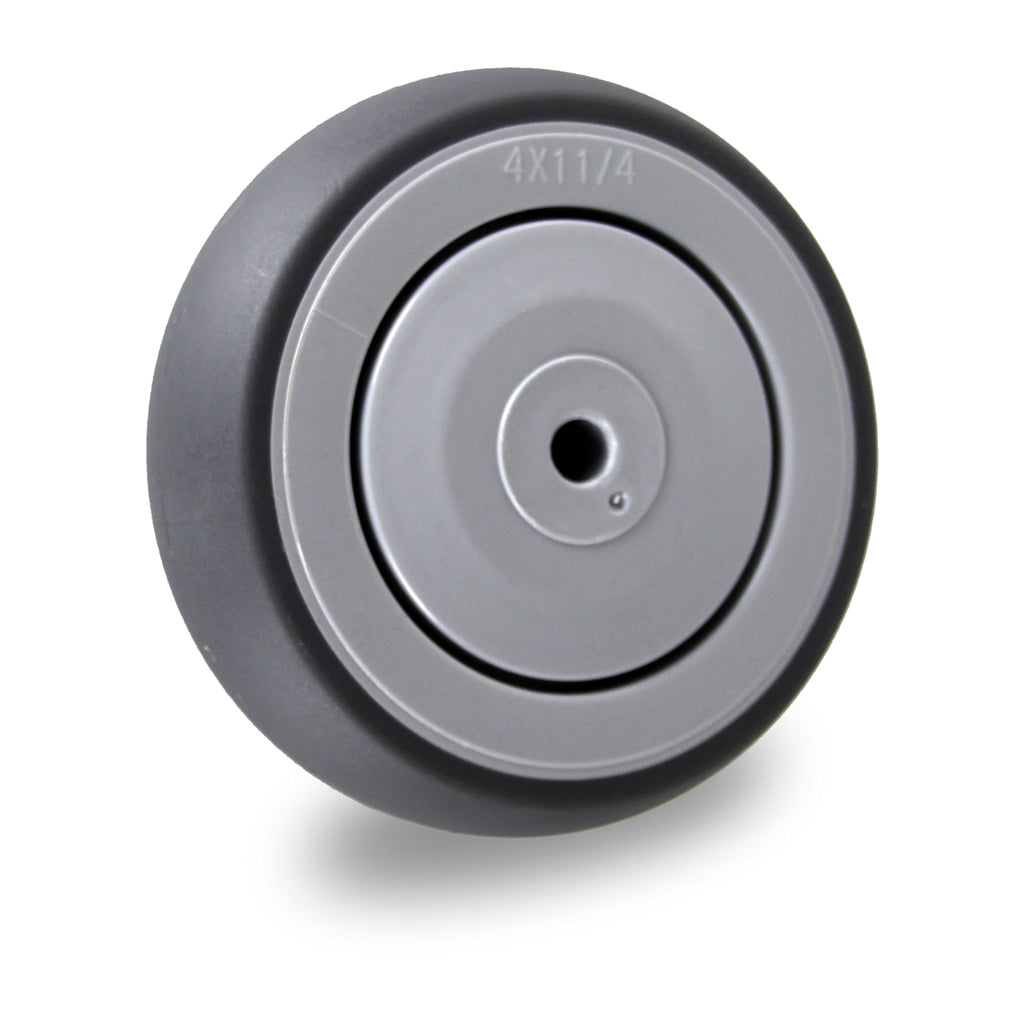 GRQ100SS 100 Kg <span>Grey Rubber Wheel - Stainless Steel</span>