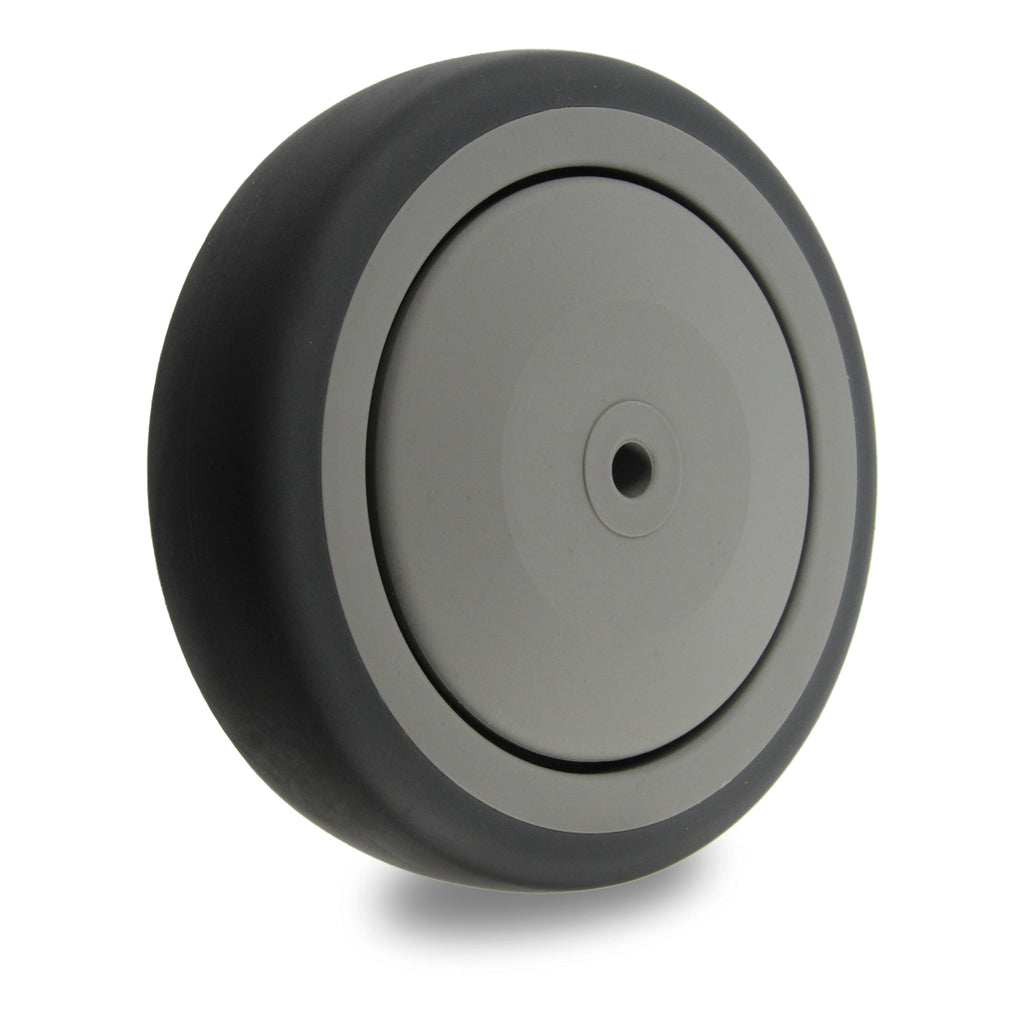 GRQ125 120 Kg 125mm<span>Grey Rubber Wheel</span>