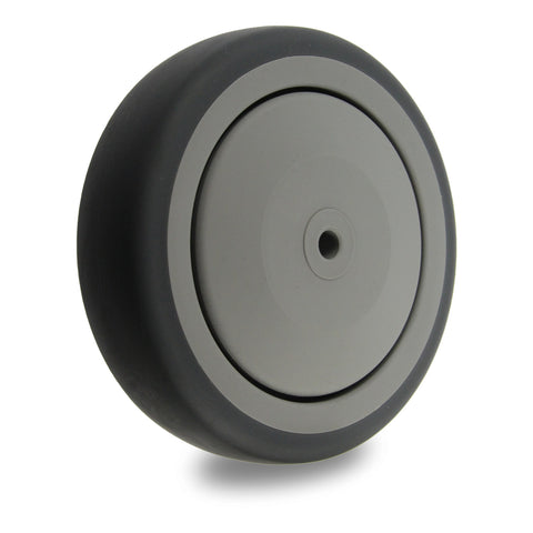 GRQ125 120 Kg <span>Grey Rubber Wheel</span>