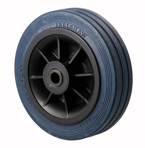 HBA150S 230 Kg Blue Rubber Wheel
