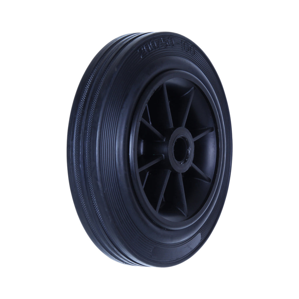HRA200 180 Kg Black Rubber Wheel