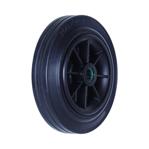 HRR200 180kg Black Rubber Wheel