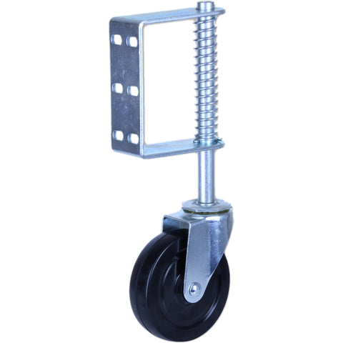 GATE CASTOR HD SPRING LOADED <span>100 Kg 125mm Heavy-Duty Spring Loaded Gate Castor</span>