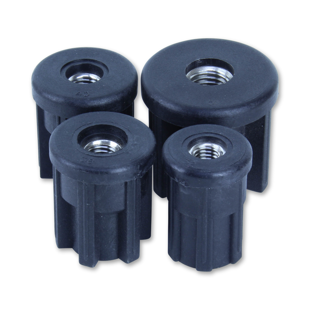 81/32/M10 32mm Round S/S Threaded Tube Insert