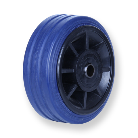 JBA100 150kg Blue Rubber Wheel