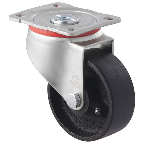 JCI100/JZP <span>230 Kg Swivel Plate 100mm Cast Iron</span>