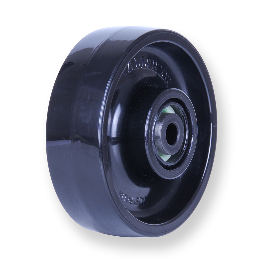 JNR100 300kg Black Nylon Wheel