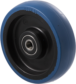 MBQ125G 150 Kg Blue Rubber Wheel