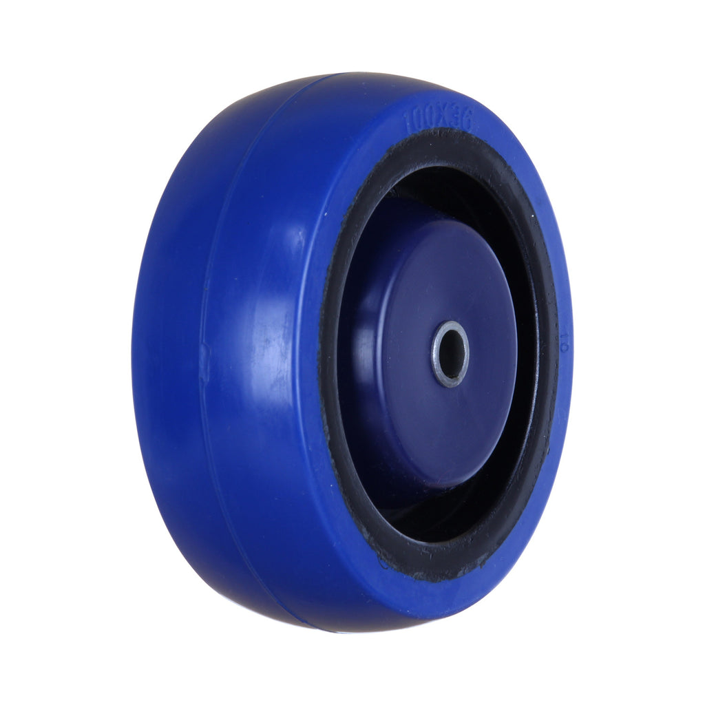 MBQ100G 140kg Blue Rubber Wheel