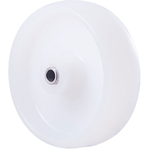MNN100WS <span>150 Kg Stainless Steel 100mm White Nylon</span>