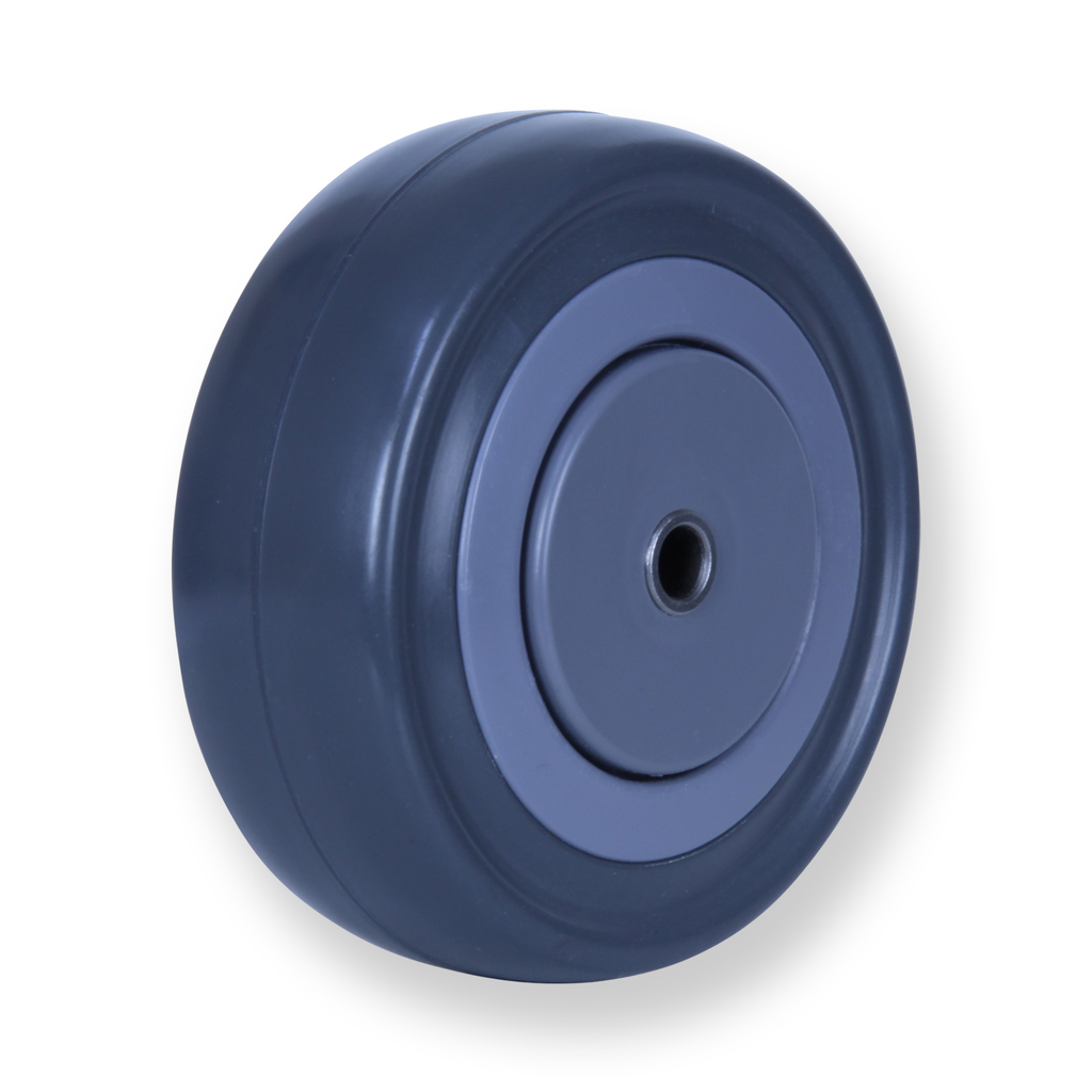 MSQ100G 140 Kg Grey Rubber Wheel