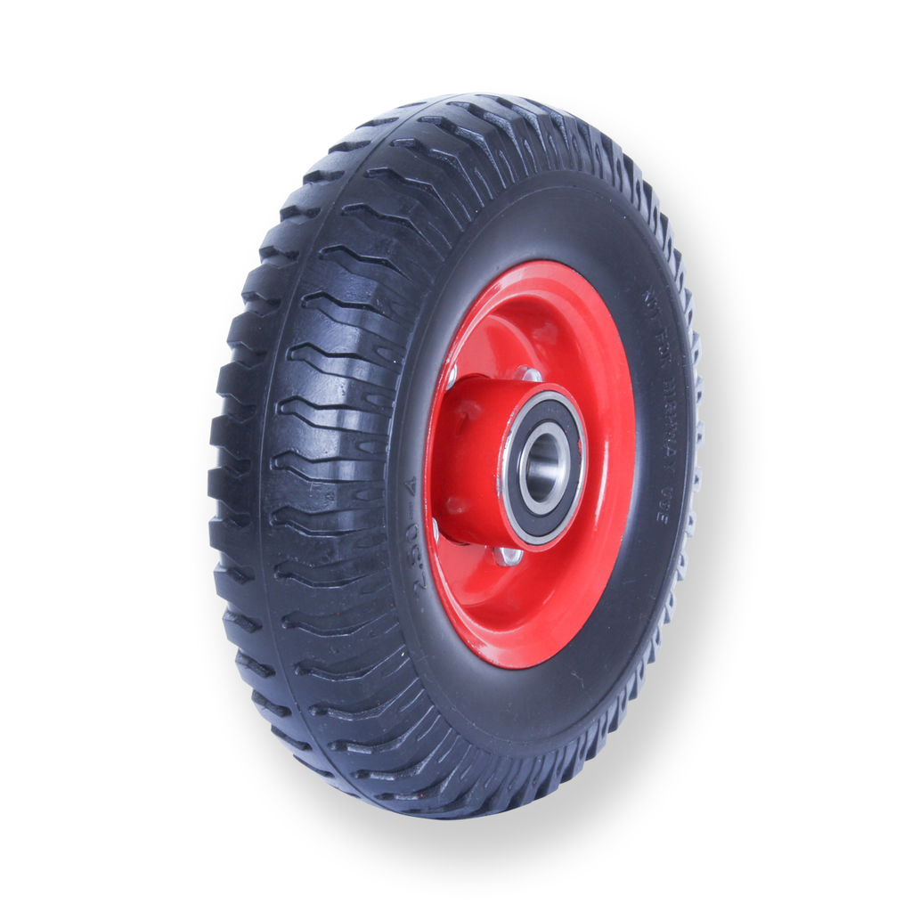 F250X4SB20 100 Kg Puncture Proof Pneumatic Wheel