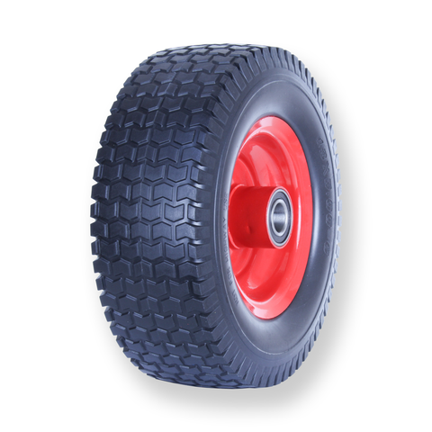 F500X6SB10 100 Kg Puncture Proof Pneumatic Wheel