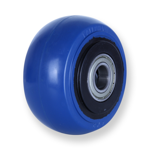OBQ100 300 Kg Blue Rubber Wheel