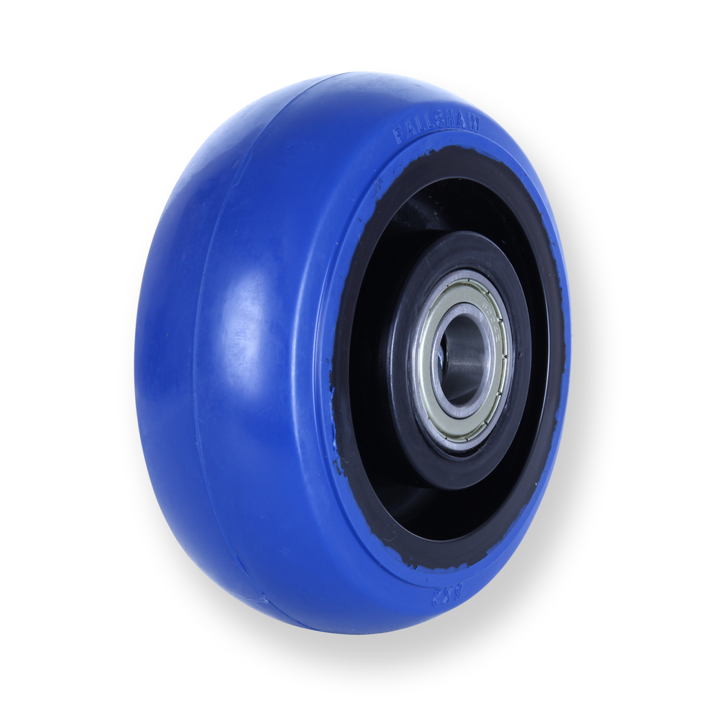 OBQ125 330 Kg <span>Blue Rubber Wheel</span>