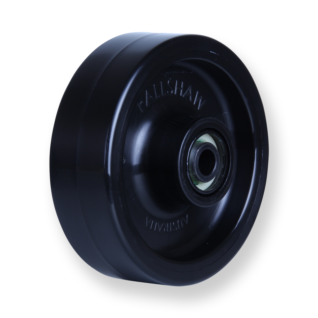 ONA125 400 Kg <span>Black Nylon Wheel</span>