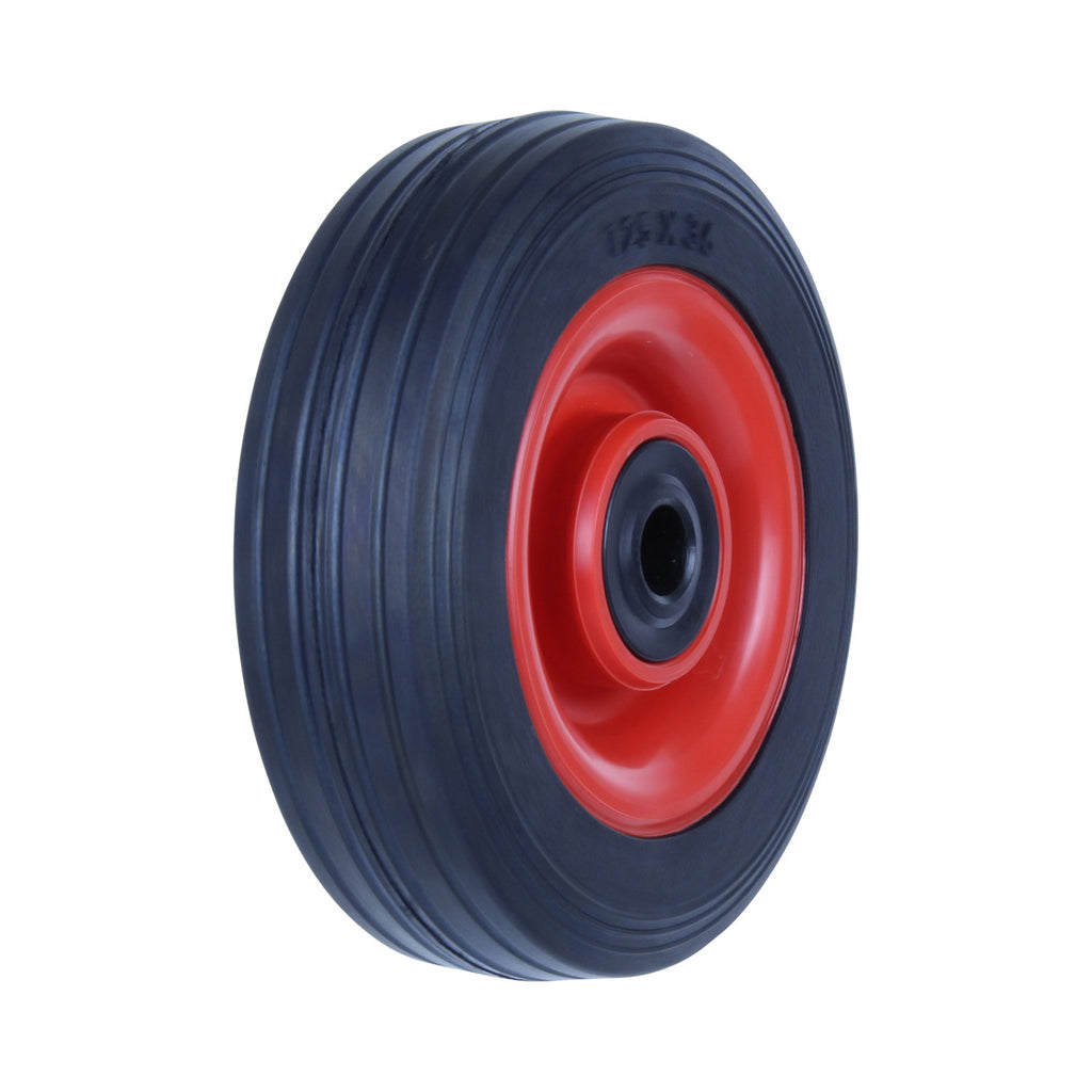 PRA125 50 Kg Black Rubber Wheel