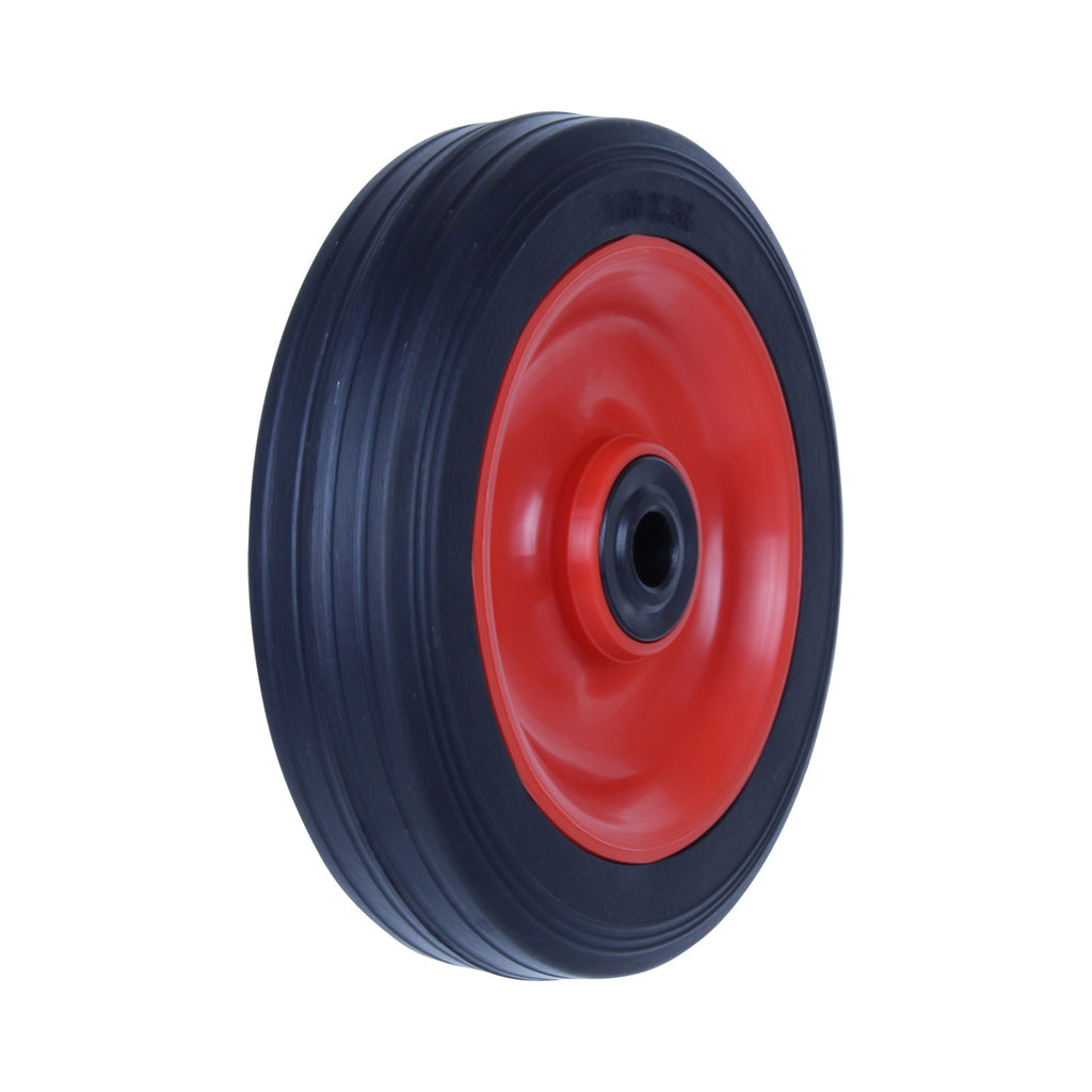 PRA150 75 Kg Black Rubber Wheel