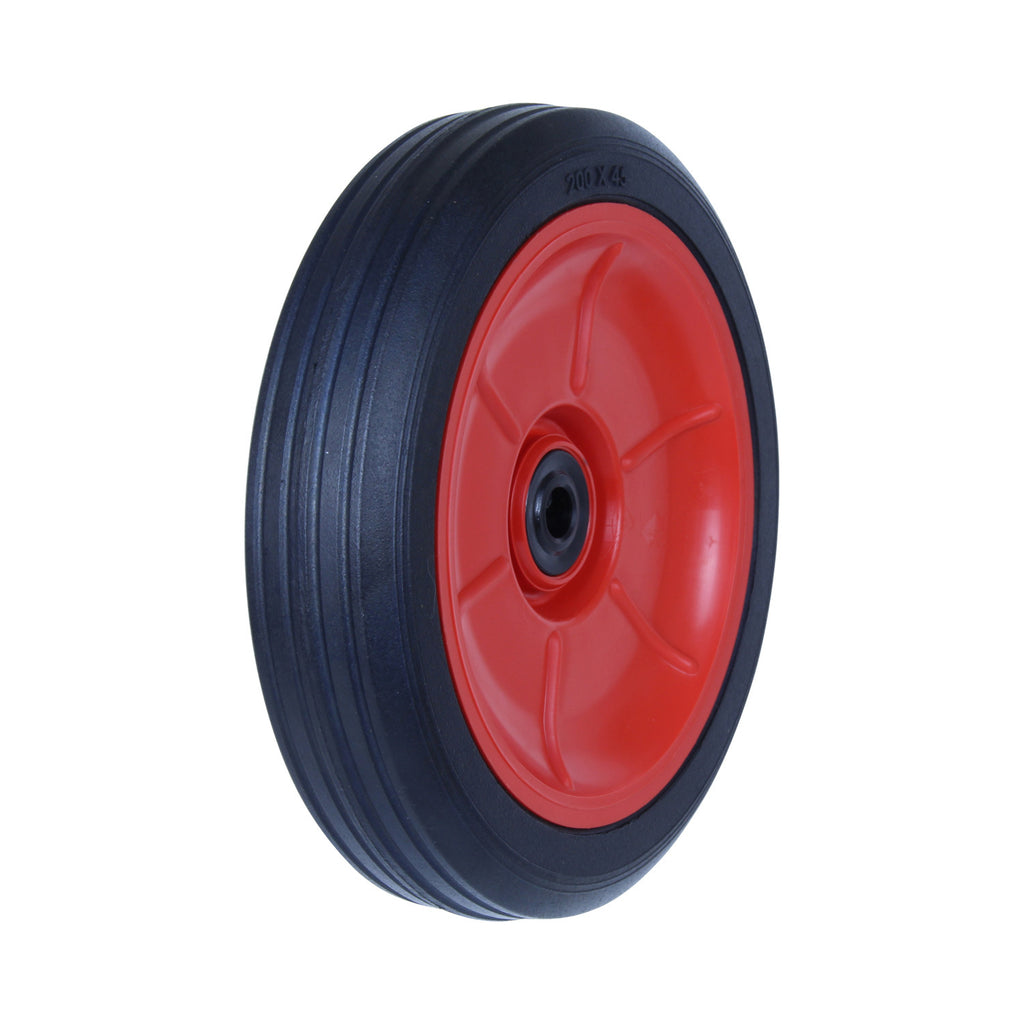 PRA200 100kg Black Rubber Wheel
