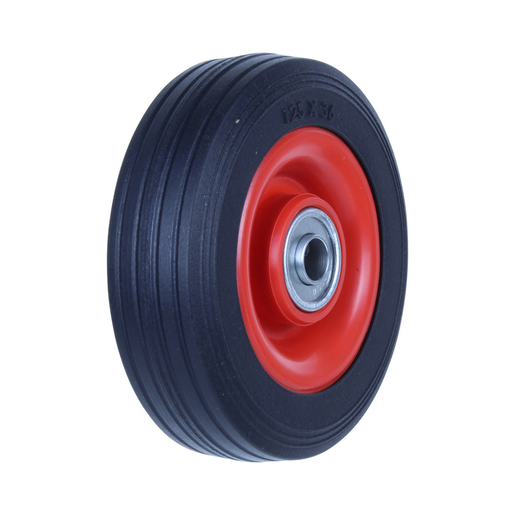 PRB125 50 Kg Black Rubber Wheel
