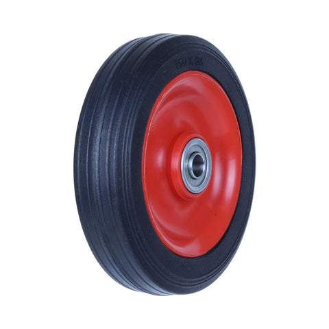 PRB150 75 Kg Black Rubber Wheel
