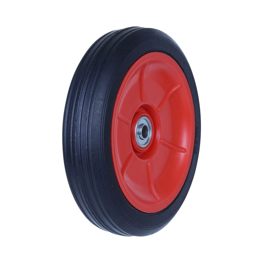 PRB200 100 Kg Black Rubber Wheel